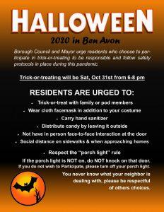 Halloween 2020 in Ben Avon